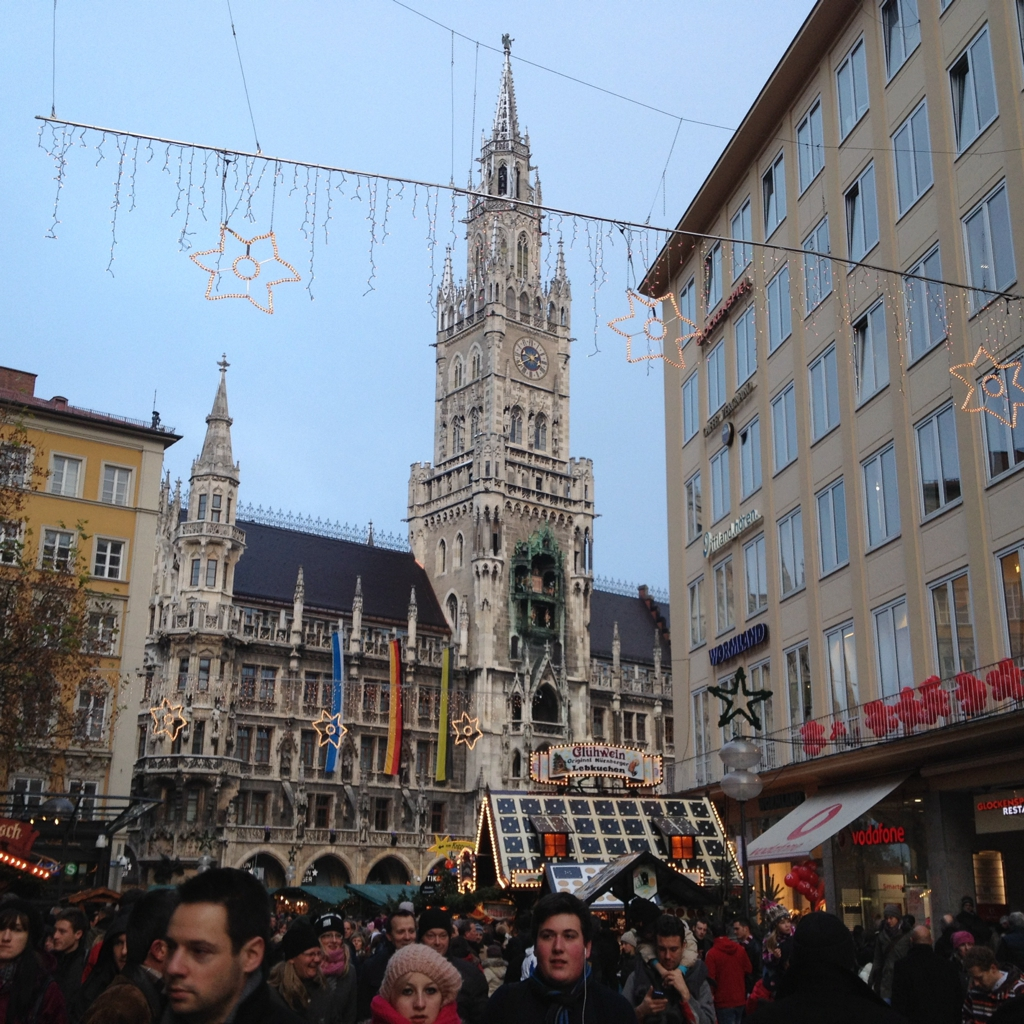 Marienplatz, Munich by Packing my Suitcase