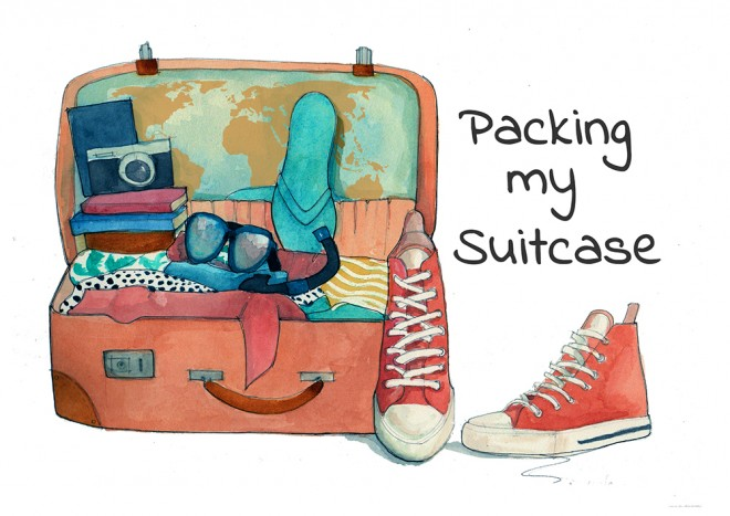 Packing my Suitcase, by Allane Milliane