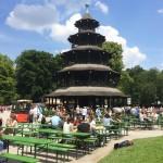 Biergarten at the Englischer Garten