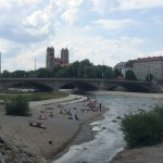 Isar, Munich. By Packing my Suitcase