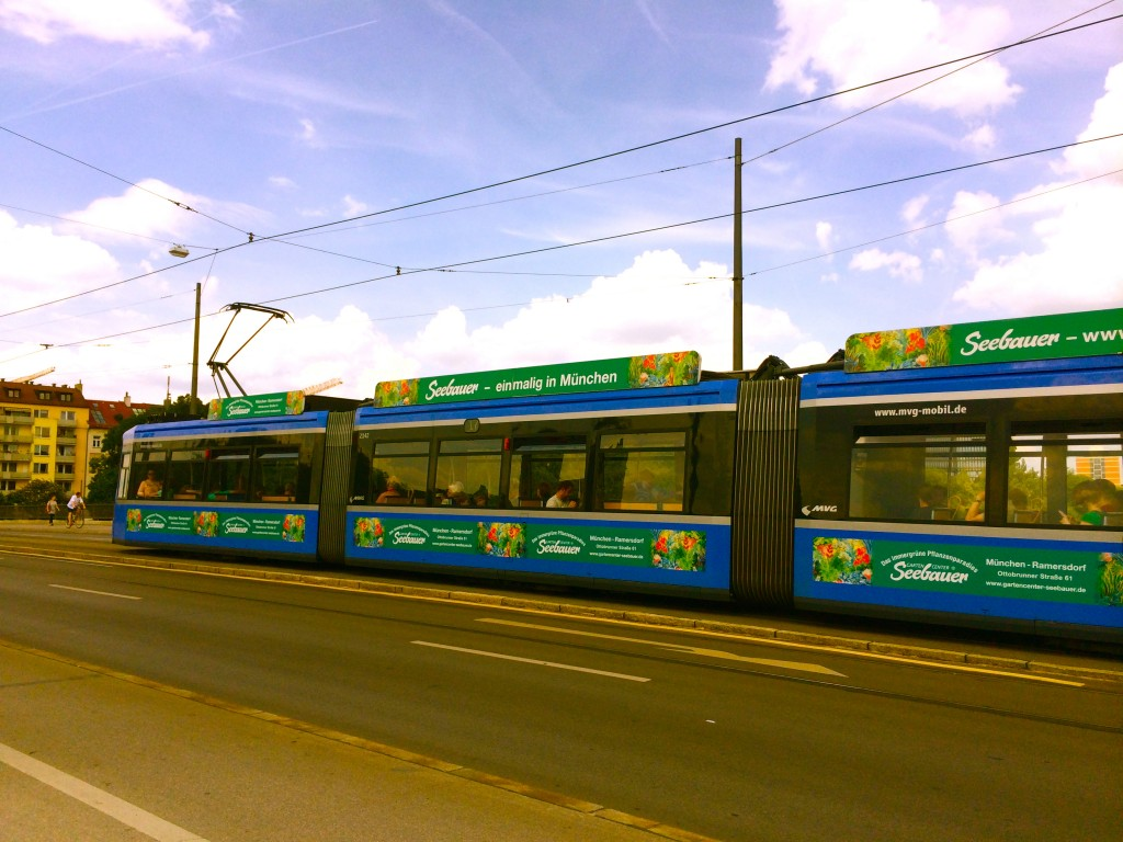 Tram in Munich. By Packing my Suitcase