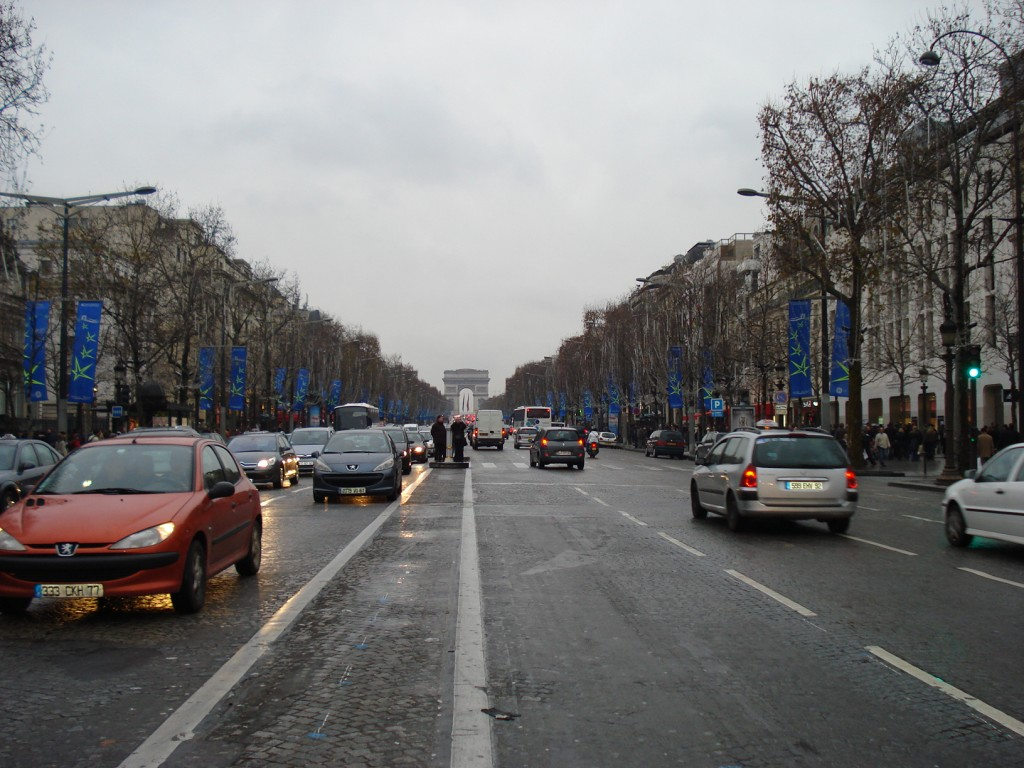 Champs Elysées, Paris. By Packing my Suitcase.
