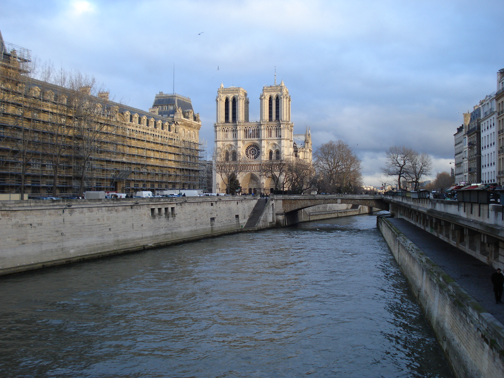 Seine and Notre Dame, Paris. By Packing my Suitcase.