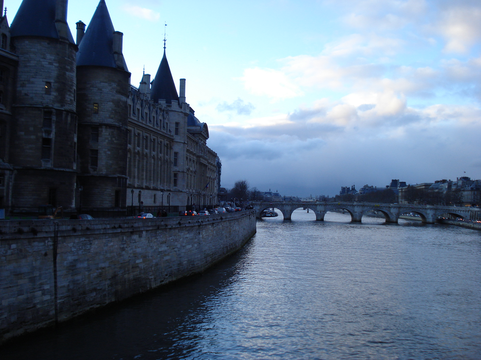 Seine, Paris. By Packing my Suitcase.