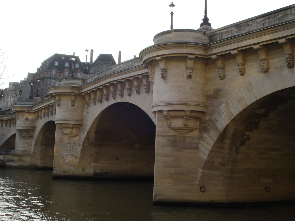 Bridges of Paris, by Packing my Suitcase.