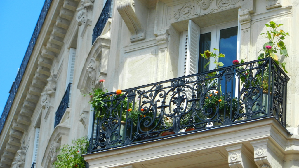 French Balcony, Paris. By Packing my Suitcase.