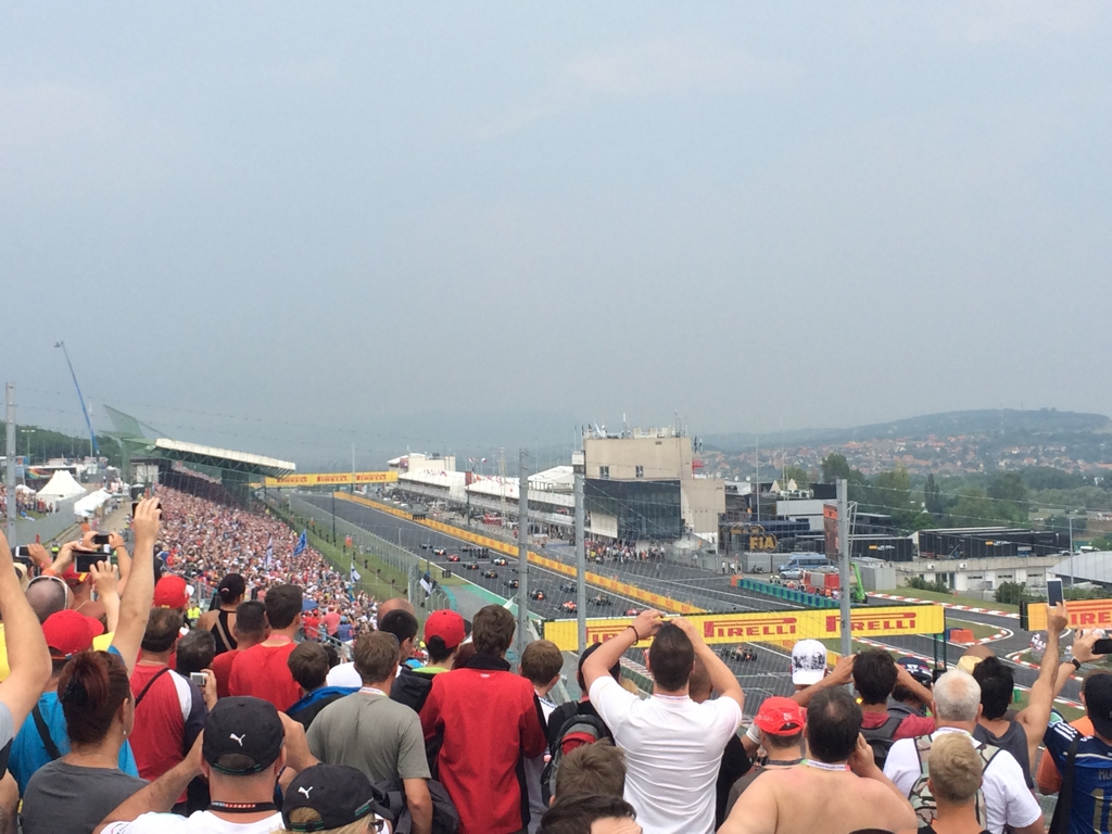 Formula 1 Grand Prix Budapest 2014, by Packing my Suitcase