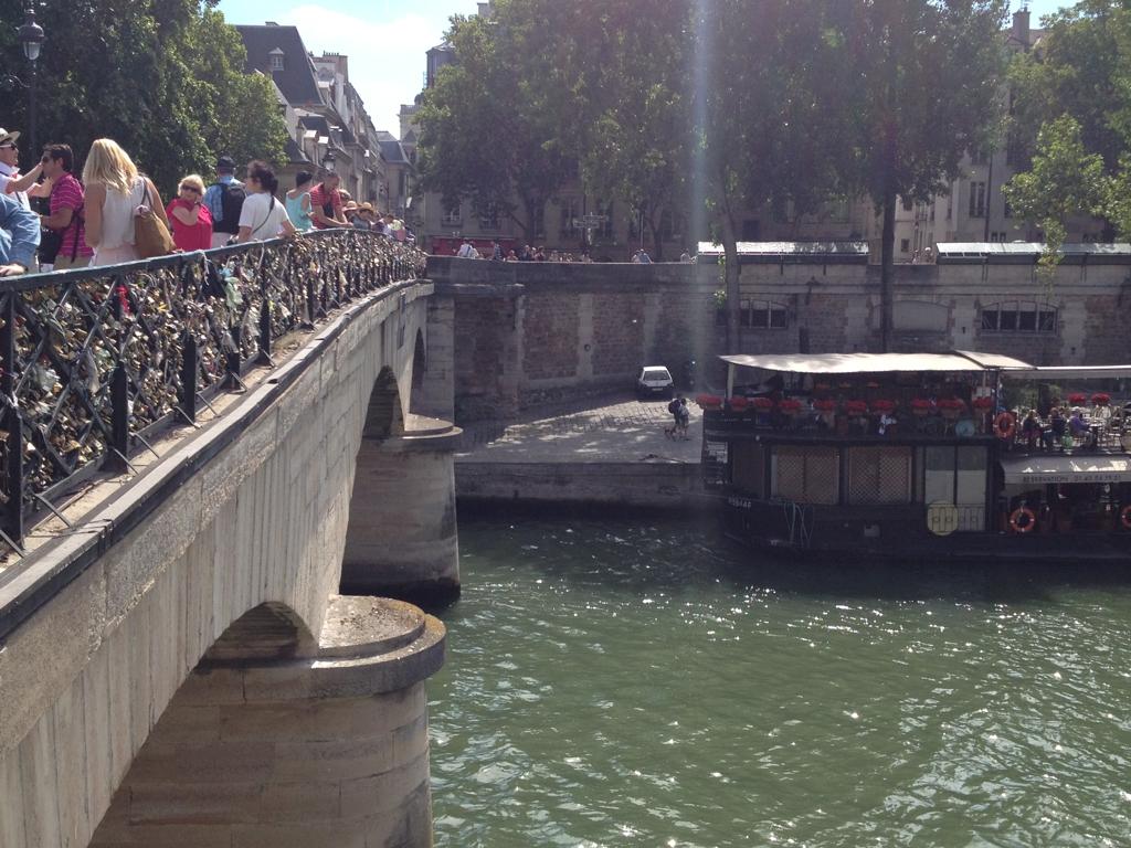 Seine, Paris. By Packing my Suitcase.