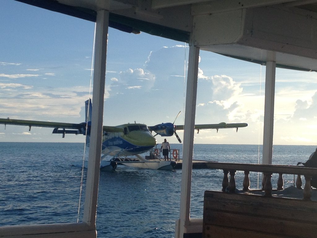 Seaplane, Maldives. By Packing my Suitcase.