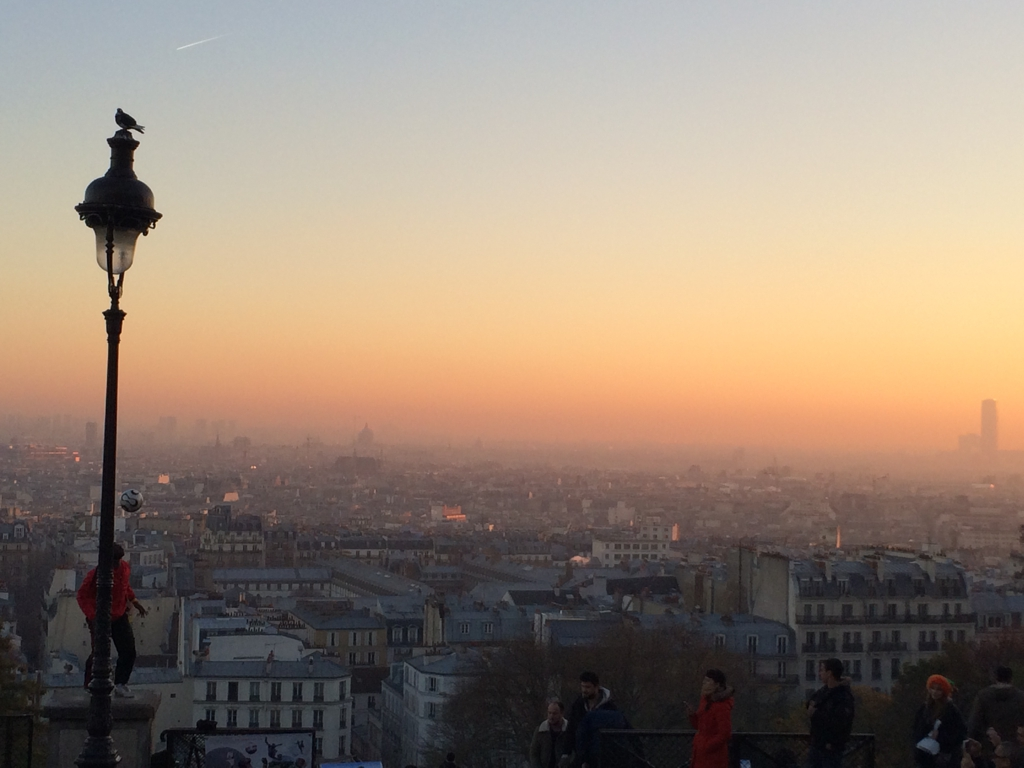 Montmartre, Paris. By Packing my Suitcase.