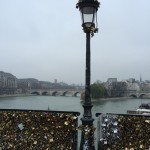 Pont des arts, Paris. By Packing my Suitcase.