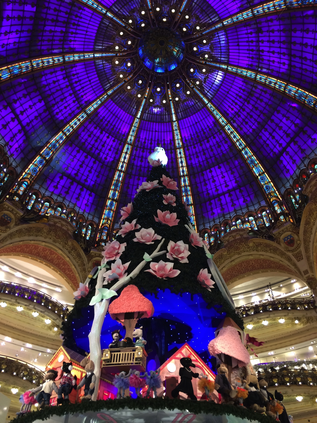 Galleries Lafayette, Paris. By Packing my Suitcase.