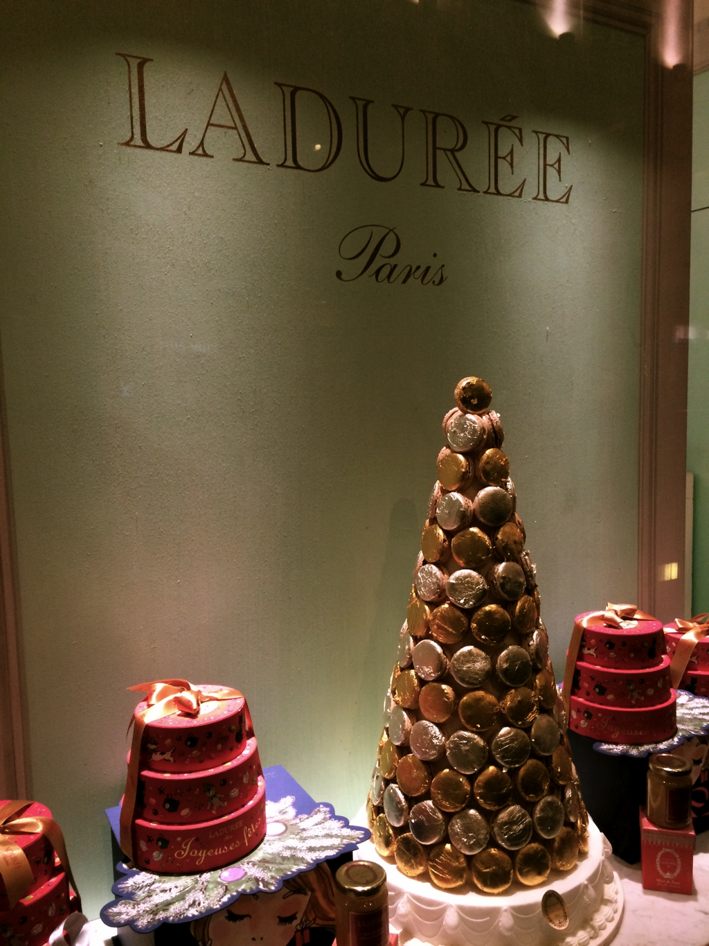 Ladurée, Paris. By Packing my Suitcase.