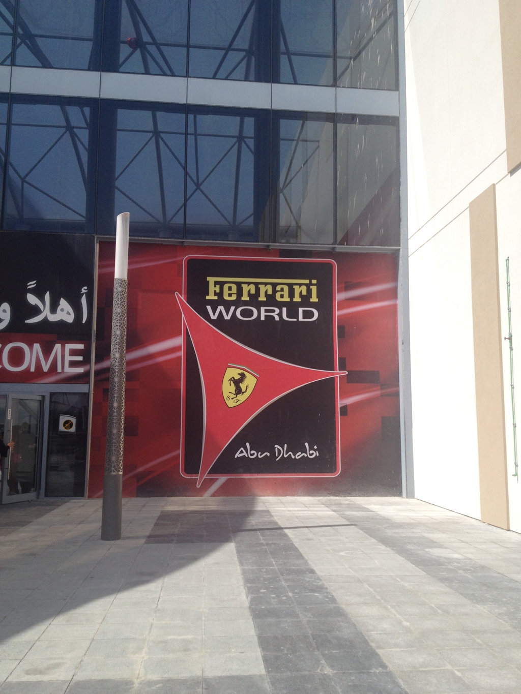 Ferrari World, Abu Dhabi, by Packing my Suitcase.