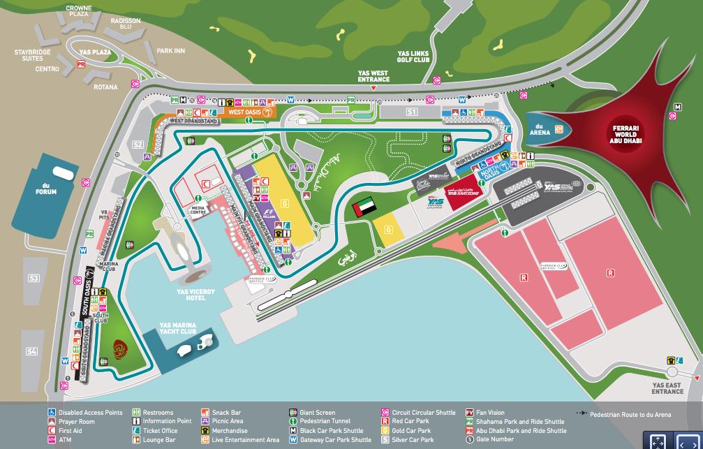 Formula 1 Grand Prix in Abu Dhabi Packing my Suitcase