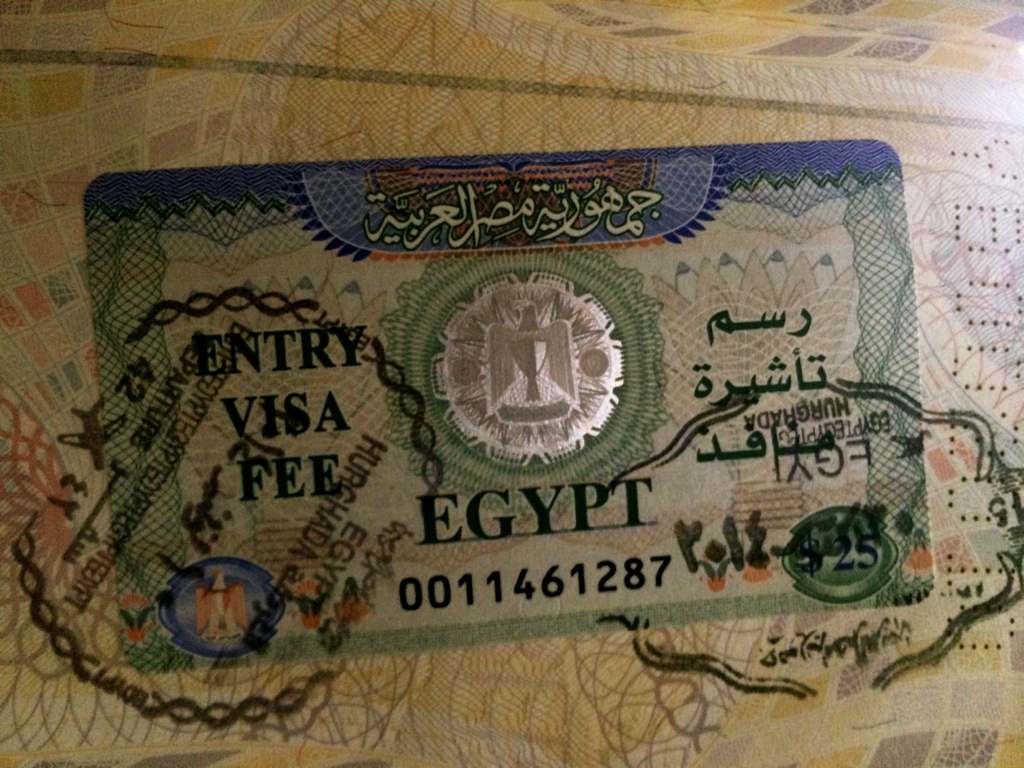 Visa Egypt, by Packing my Suitcase.