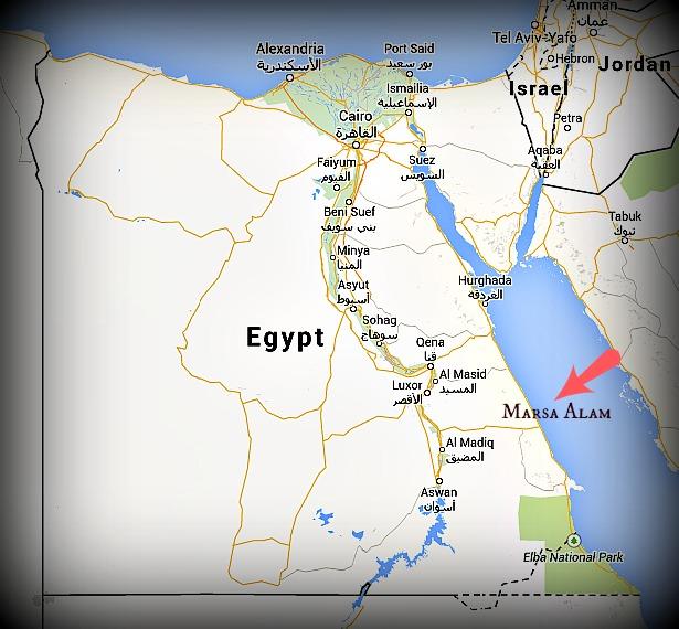 Marsa Alam Egypt Packing My Suitcase - Map of egypt marsa alam