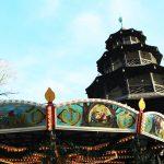 Weihnachtsmarkt Chinesischer Turm, Munich