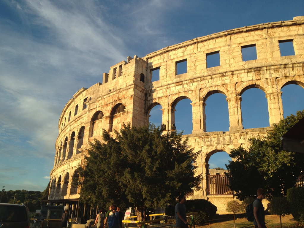 Pula, Croatia. By Packing my Suitcase.