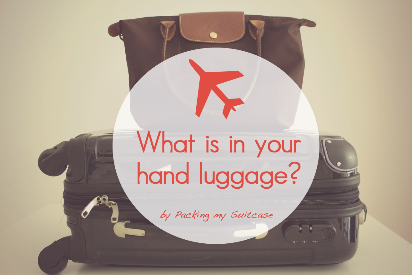 What is in your hand luggage? By Packing my Suitcase.