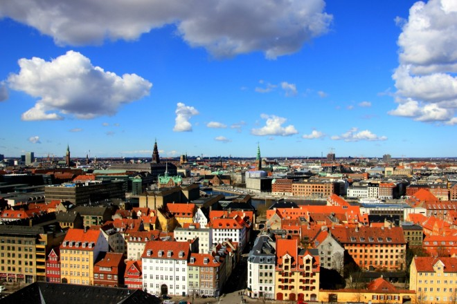 Copenhagen from above, by Packing my Suitcase.