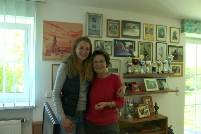 Frau Maier and her daughter.
