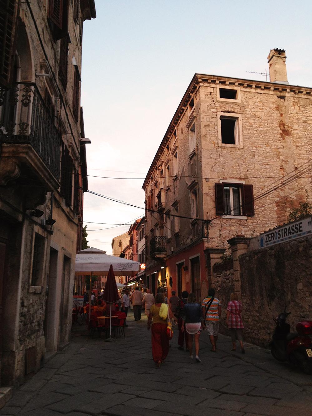 Street in Pula