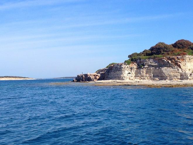 Island near Brjuni Island