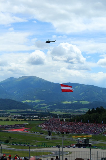 Formula 1 Grand Prix Austria 2015, by Packing my Suitcase.