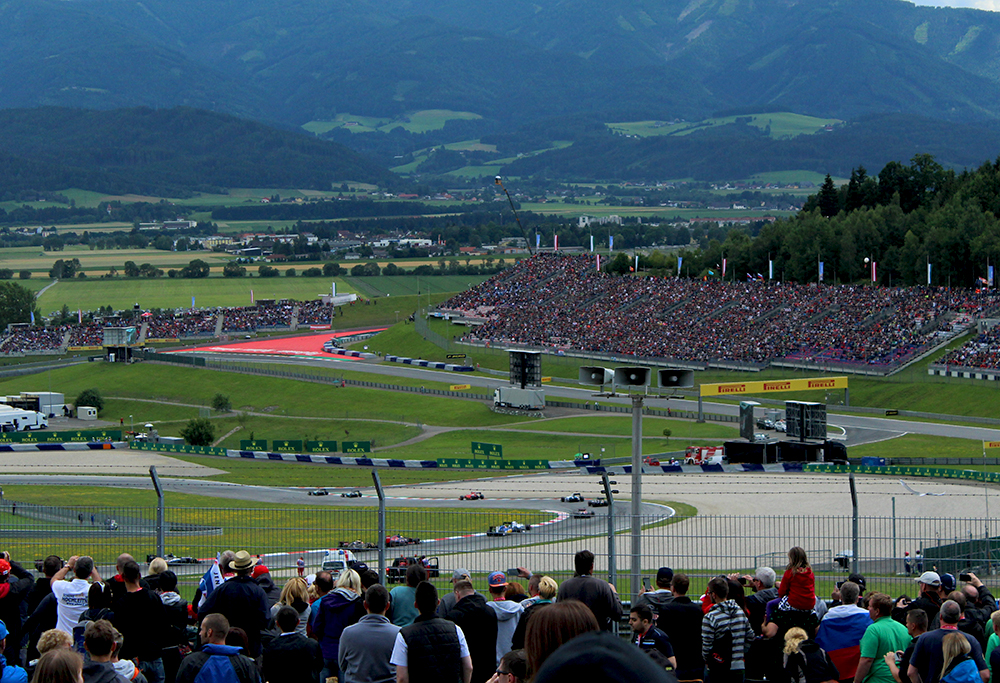 Formula 1 Grand Prix in Austria 2015
