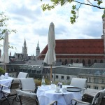Breakfast at the Bayerischer Hof, Munich