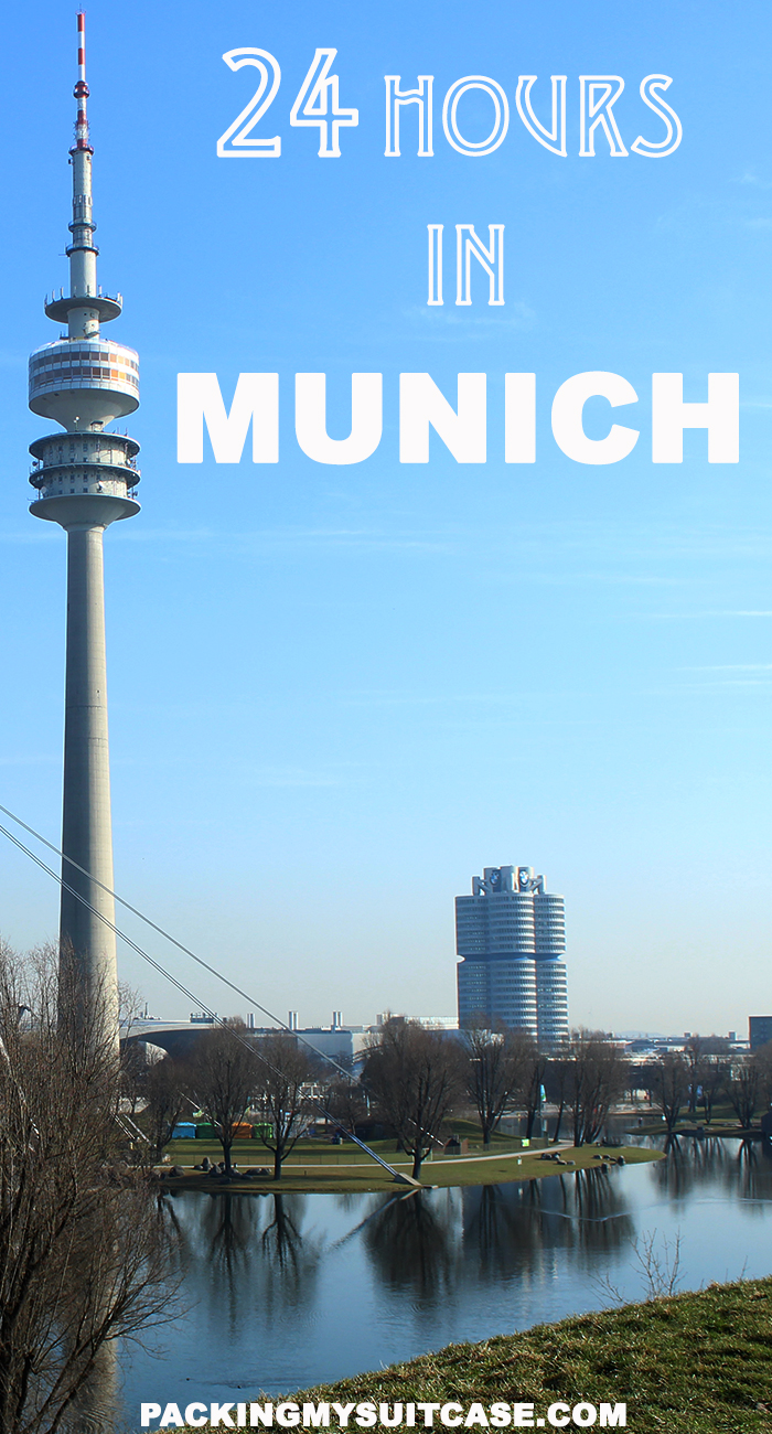 24 hours in Munich, by Packing my Suitcase