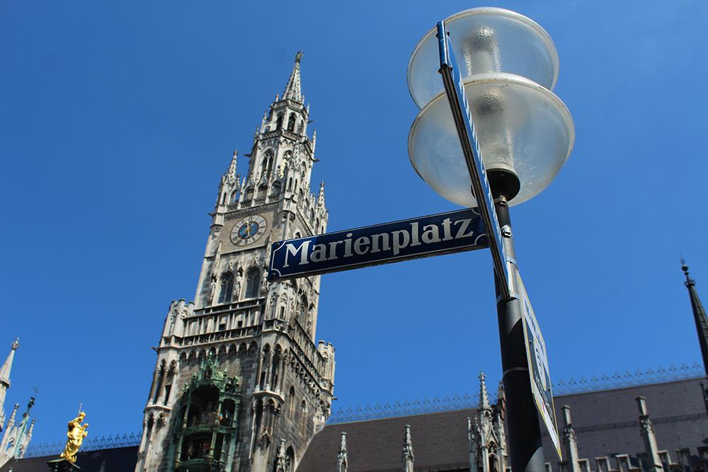 Marienplatz, Munich. By Packing my Suitcase.