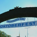 Oktoberfest entrance, by Packing my Suitcase