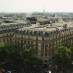 View from the Galleries Lafayette terrace