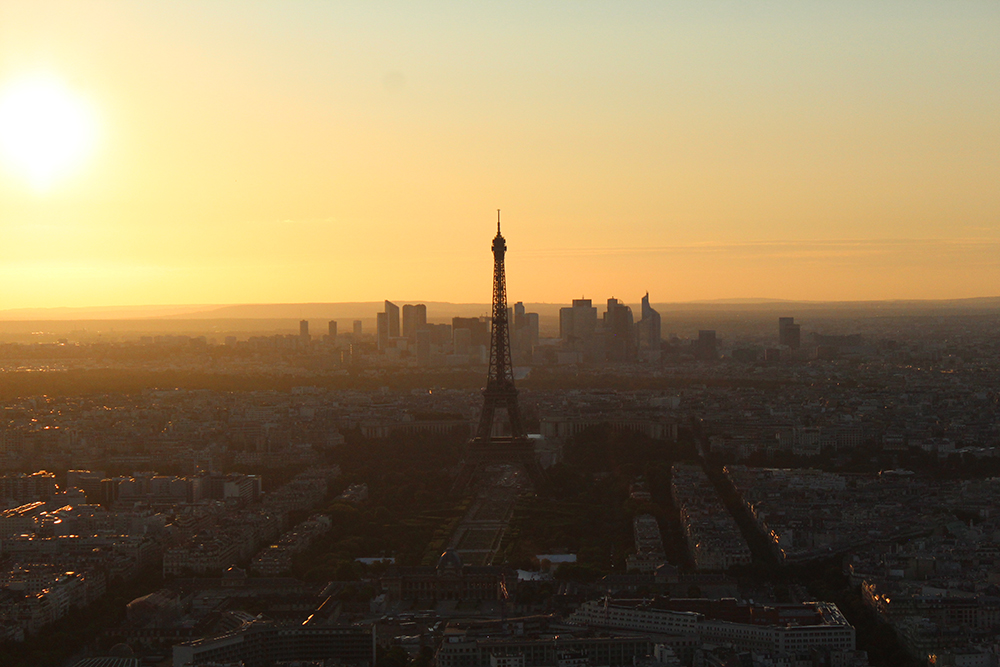 View from the Tour Montparnasse