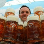 What it's like to be a waiter at the Oktoberfest