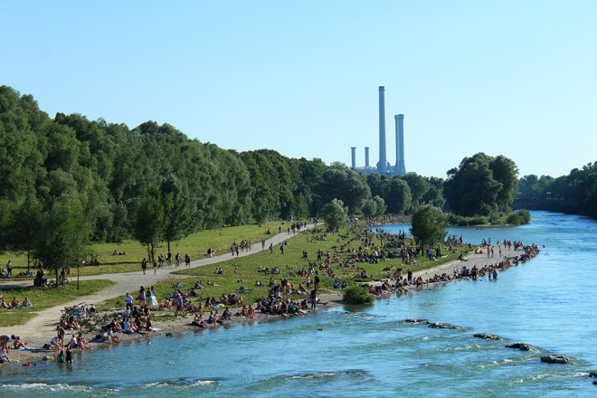 Isar, Munich