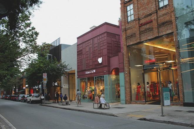 Oscar Freire Avenue