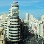 View from El Corte Inglés