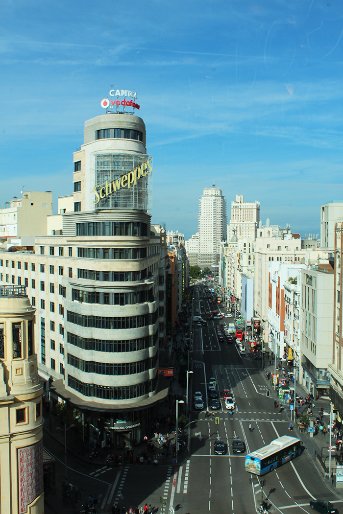 View from El Corte Inglés