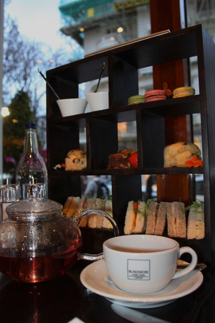 Afternoon tea, Blakemore Hyde Park Hotel, London