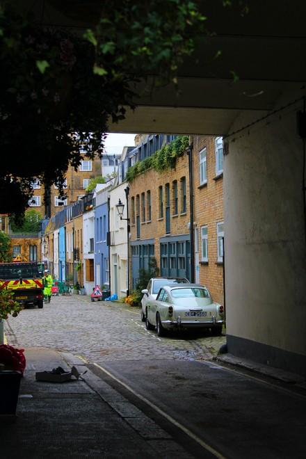 Alleyway in London