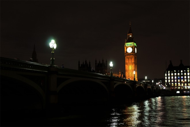 The Big Ben at night, London