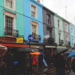 Notting Hill rain, London
