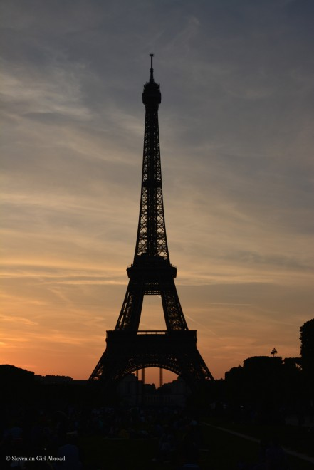 Paris at sunset by Slovenian Girl Abroad