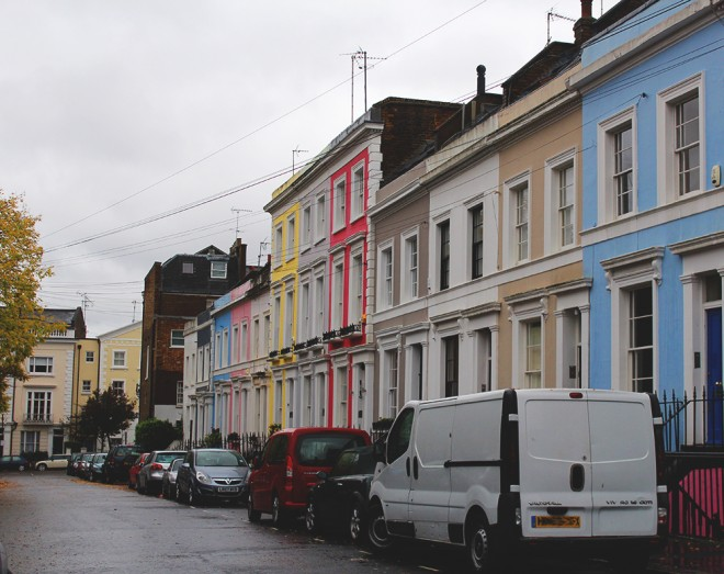 A walking tour in Notting Hill
