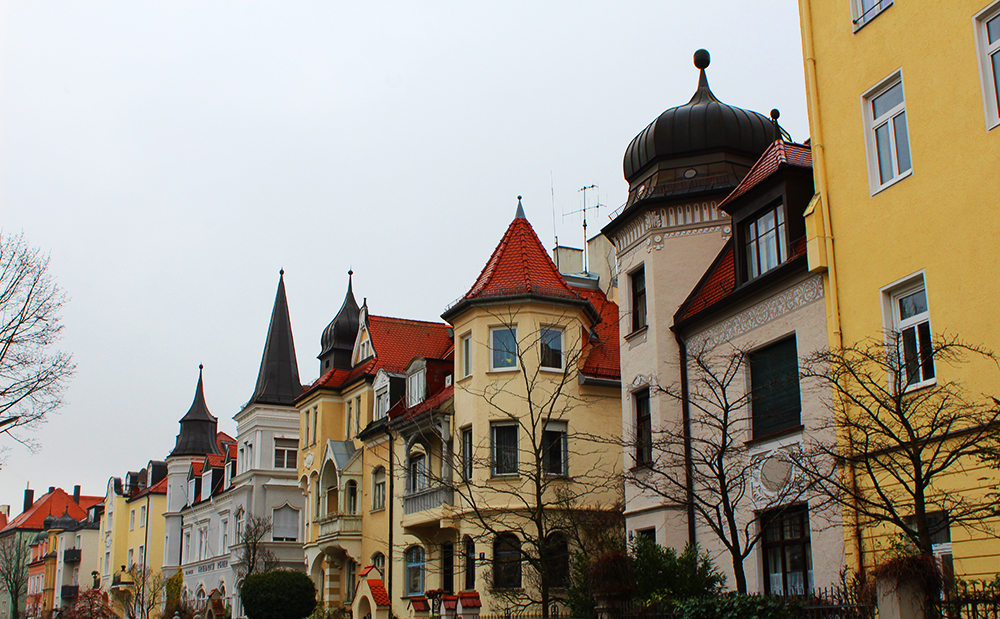 Buildings in Munich