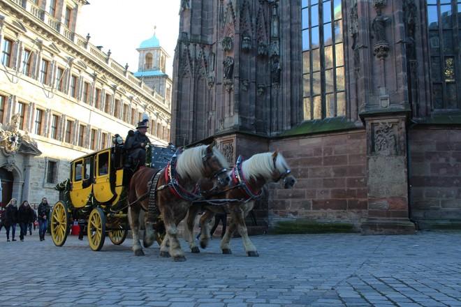 Carriage in Nuremberg