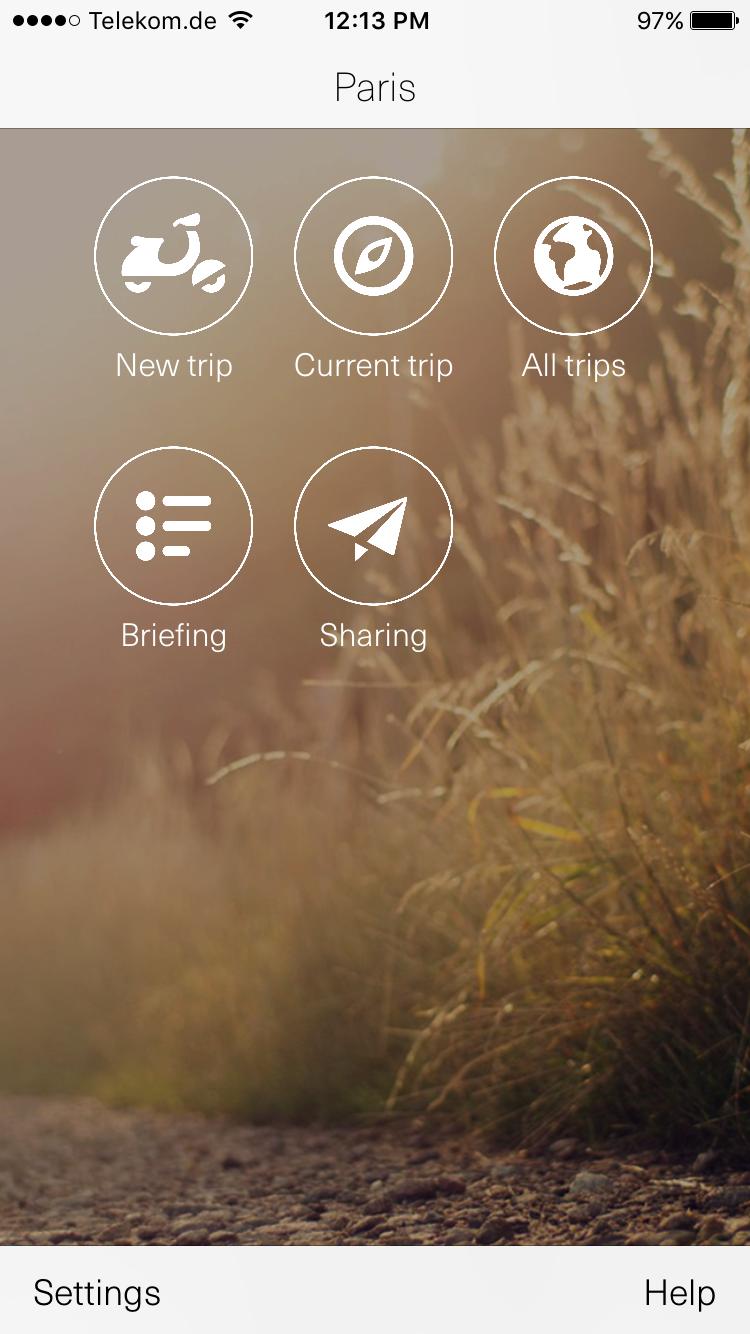 Trip Rider App
